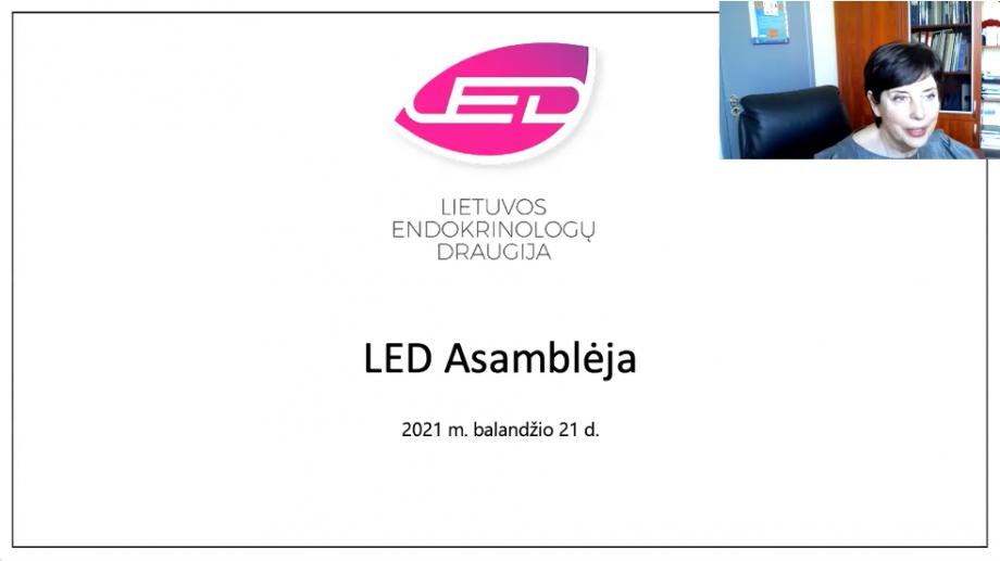 Įvyko nuotolinė LED Asamblėja