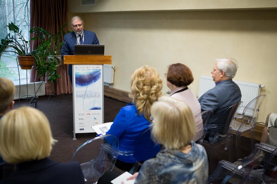 """Mokslinė praktinė konferencija """"Inovatyvūs sprendimai diabetologijoje"""""""